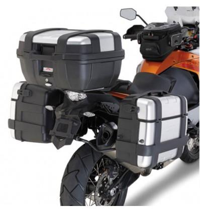 GIVI PLR7706 quick support for luggage side case GIVI MONOKEY ktm 1050 ADVENTURE 2015 2016