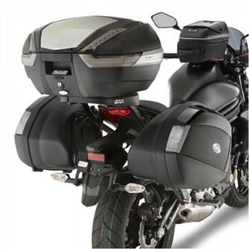 Monorack Givi pour Top Case MONOKEY 4104FZ+M5 Kawasaki ER6 12