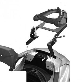 accessoires moto support top case valise moto scooter piaggio gilera silverstone motor. Black Bedroom Furniture Sets. Home Design Ideas