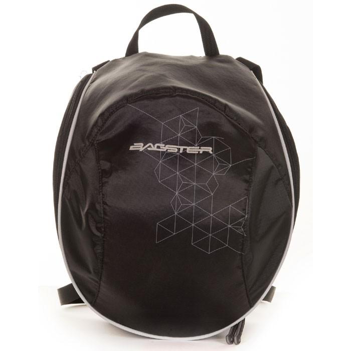 BAGSTER motorcycle backpack for helmet PIX black XSD148