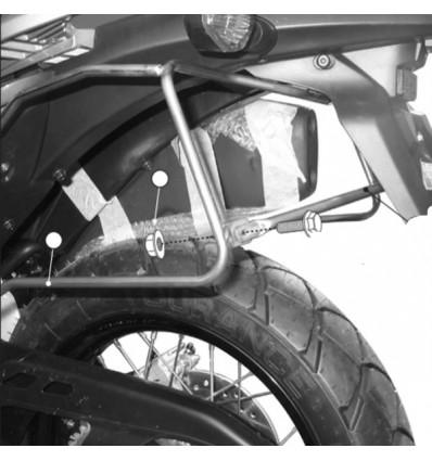 GIVI T221 support pour sacoches cavalières honda honda XL 700 V TRANSALP 2008 à 2013