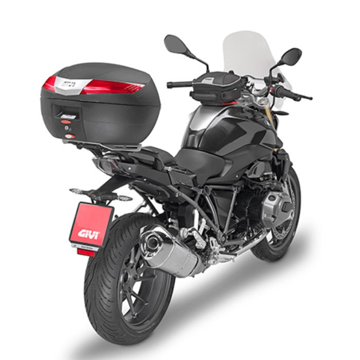 givi top case touring v40 n monokey 40l for motorcycle and scooter. Black Bedroom Furniture Sets. Home Design Ideas