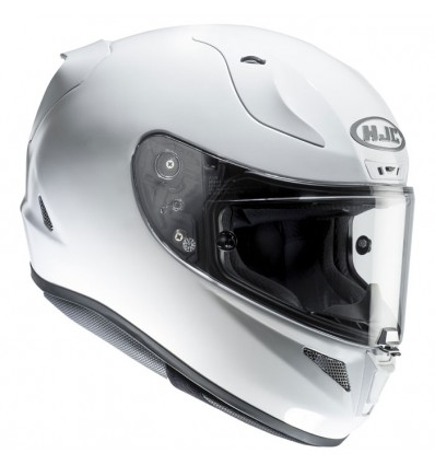 HJC casque moto intégral FIBRE RPHA 11 RACING blanc métal