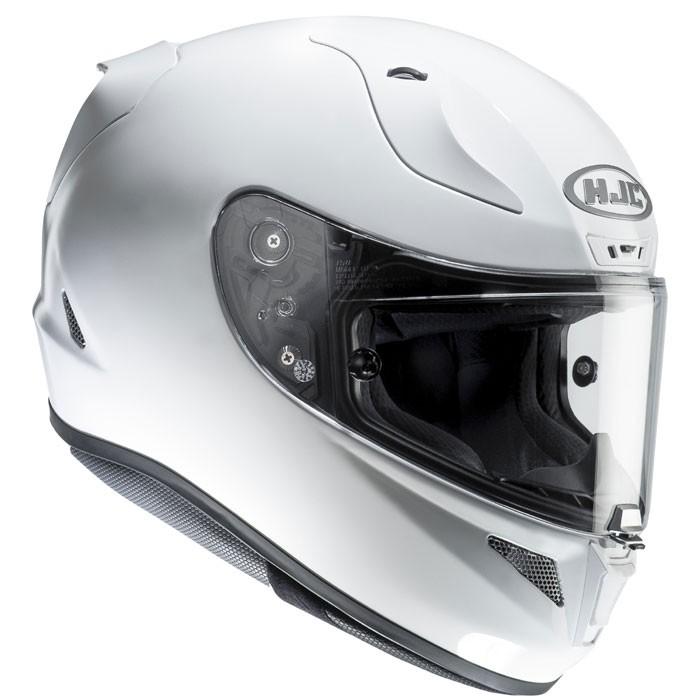 hjc casque moto int gral fibre rpha 11 racing blanc m tal. Black Bedroom Furniture Sets. Home Design Ideas